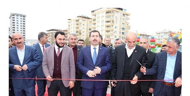 Karaköprü'de yöresel ürünler fuarı açıldı