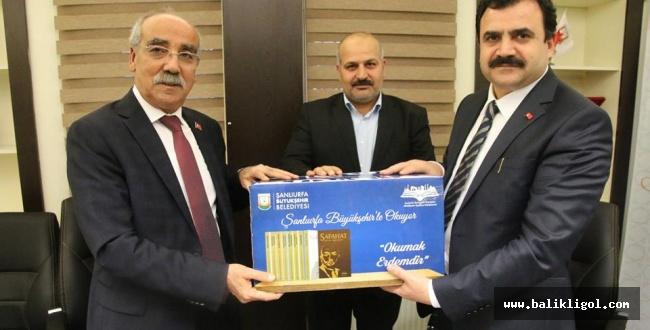Urfa'da Büyükşehir 400 bin kaynak kitap dağıtılacak