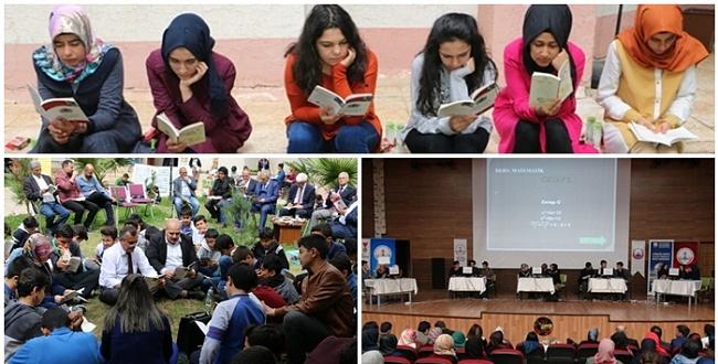 Urfa Büyükşehir Kütüphanler Haftasına Renk Kattı