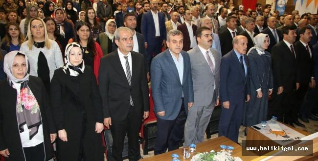AK Parti Haliliye Kadın Kolları Başkanlığı kongresi yapıldı