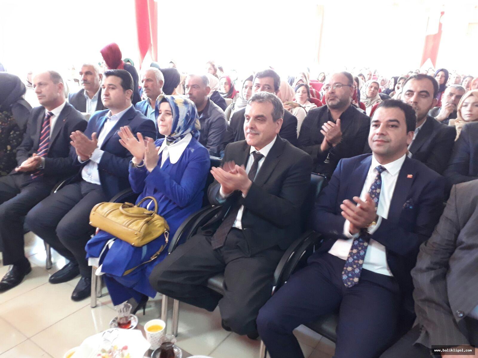 AK Parti Suruç Kadın Kolları başkanlığına Hatice İkbal getirildi