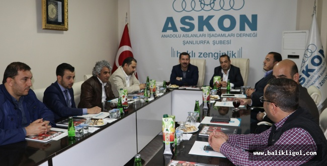 Başkan Baydilli ASKON üyeleriyle bir araya geldi