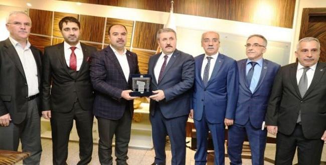 BBP Başkanı Mustafa Destici Şanlıurfa'da konuştu