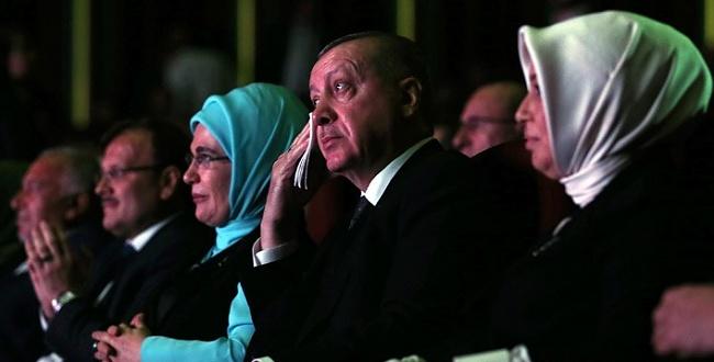 Beştepe'de Erdoğan'ı hem duygulandıran, hem güldüren anlar