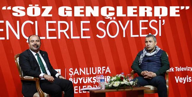 Haber Türk TV Gençlerle Söyleşiyi Başkan Çiftçi ile Urfa'da gerçekleştirdi