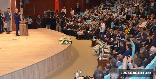 Kültür ve Turizm Bakanı Kurtulmuş Harran Üniversitesinde Konuştu