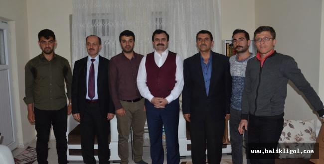 MEB Müdürü Turan Sayburç ve Çıralı Köy Okullarını ziyaret etti