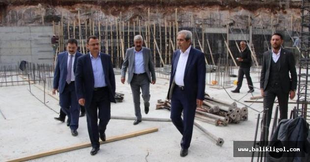 Osmangazi Mahallesinde'deki Dev Eserin İnşaatı Hızla Yükseliyor