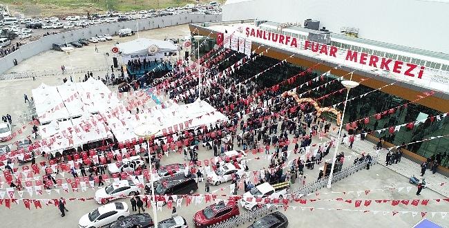 Şanlıurfa Fuar Merkezi açıldı