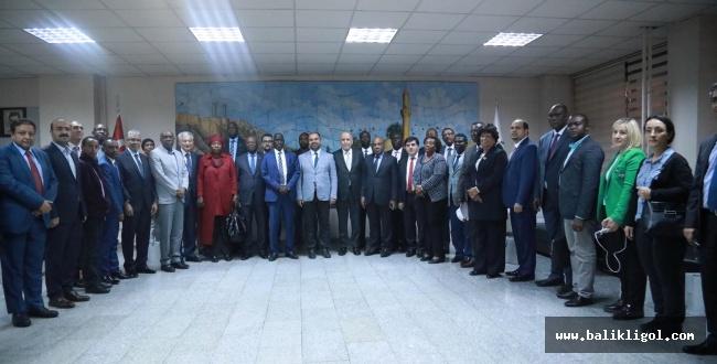 Şanlıurfa Büyükşehir, Afrikalı Büyükelçileri Ağırladı