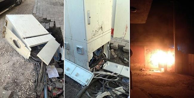 Şanlıurfa'da bakın elektrik panoları niçin tahrip ediliyor?