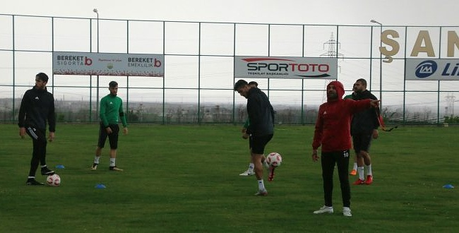 Şanlıurfaspor'un Pendikspor hazırlıkları sürüyor