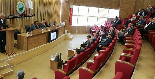 ŞUTSO Başkanı Peltek'ten ilk açıklama; Şanlıurfa'ya Vizyon Katacağız