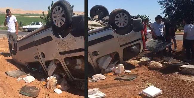 Şanlıurfa'daTrafik kazası: 2 yaralı