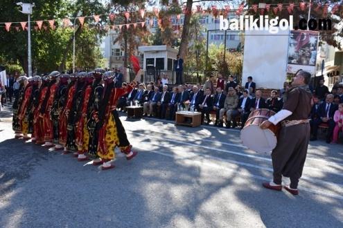 29 Ekim Cumhuriyet Bayramı Hilvan'da Coşkuyla kutlandı