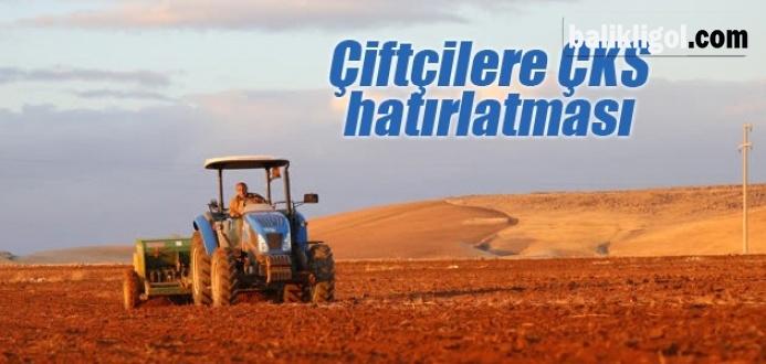 Çiftçiler Dikkat! ÇKS Kaydı Olmayana Elektrik Vermeyecek !