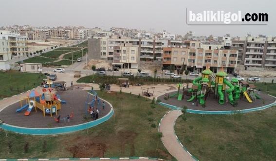 Haliliye'de Çocuklar İçin Parklara Yeni Oyun Grubu