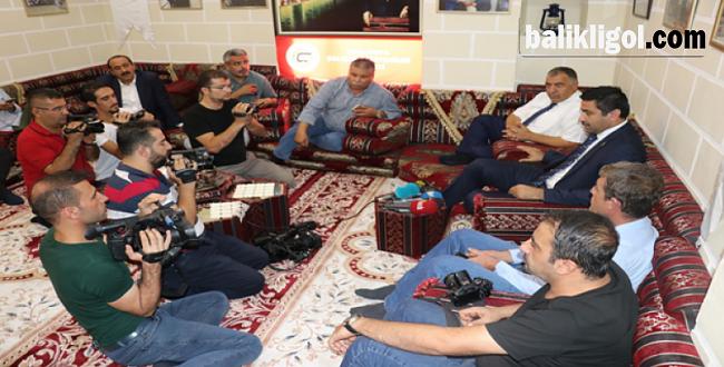 Milletvekili Yıldız, gazetecilere konuk oldu