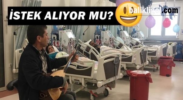 Şaka gibi! Urfa'da müzik eşliğinde tedavi görüyorlar