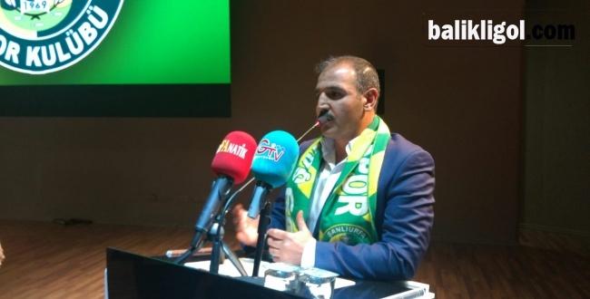 Şanlıurfaspor Olağanüstü Kongresinde Emin Yetim yeniden başkan seçildi