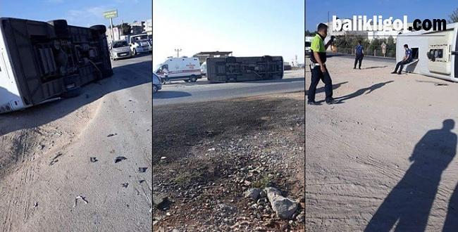 Suruç'ta Kaza: 10 Polis Yaralı