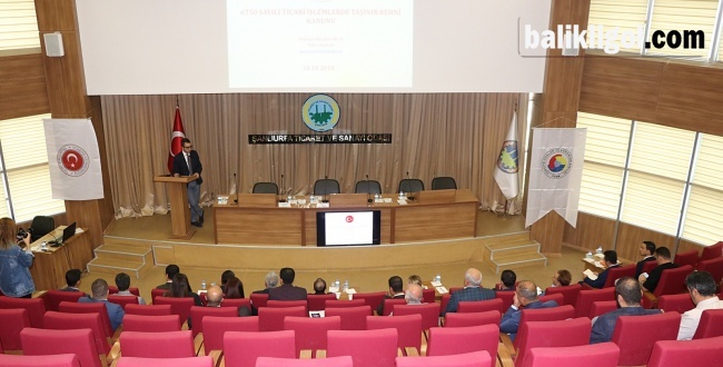 Şutso'da Taşınır Rehni Bilgilendirme Toplantısı Yapıldı