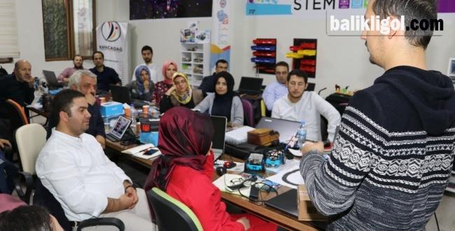 Urfa'da öğretmenlere robotik kodlama eğitimi