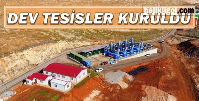 Urfa'da çöpler artık elektrik enerjisine dönüşüyor
