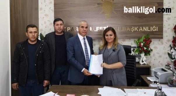 Argıl eski Belediye Başkanı Mehmet Şimşek Halfeti İçin Aday Oldu