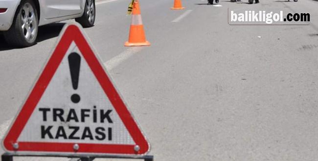 Halfeti'de Motosiklet kazası: 1 ölü