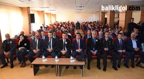 Hilvan'da 10 Kasım Atatürk'ü Anma Programı