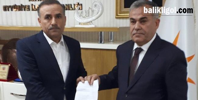 Mustafa Tepe Eyyübiye Belediye Başkan aday adayı oldu