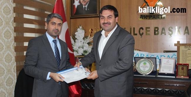 Nusret Tüysüz Siverek Belediye Başkan aday adayı oldu