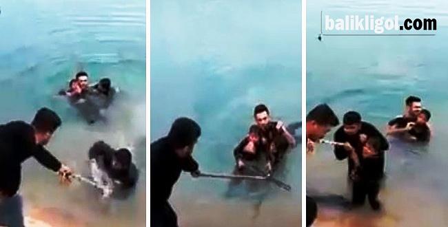 Sulama kanalına düşen çocuklar kurtarıldı