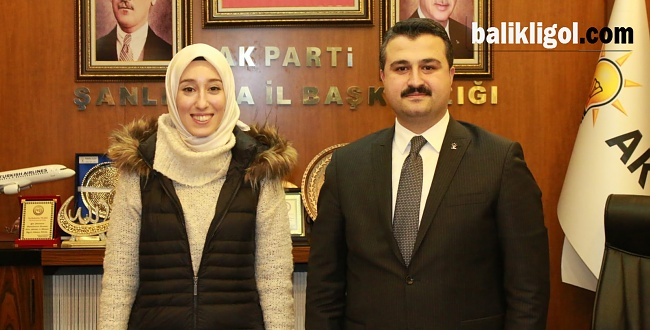 Türkiye'nin En Genç Milletvekili Kadak, Türkiye'nin En Genç İl Başkanı Yıldız'ı Ziyaret Etti
