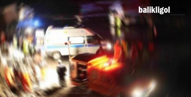 Urfa'da trafik kazası: 1 Ölü 1 yaralı