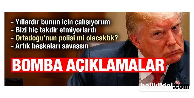 ABD Başkanından Bomba Açıklamalar: Şimdi eve dönme...