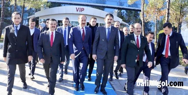 Bakan Murat Kurum Şanlıurfa'da