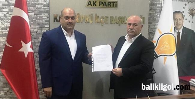 Hacı Akkuş Karaköprü Meclis Üyeliği için aday oldu