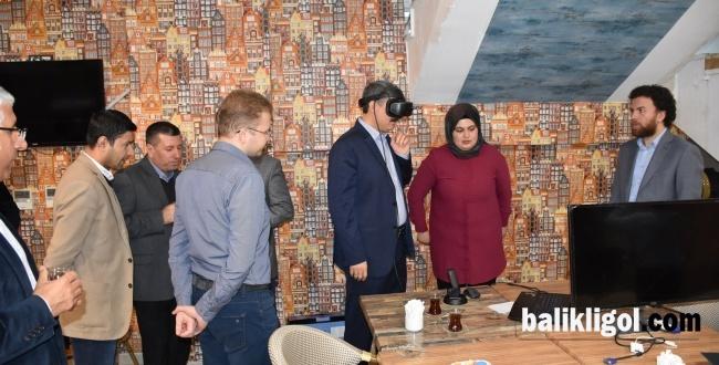 Harran Üniversiteside Şehircilikte Geotasarım ve Sanal Gerçeklik Çalıştayı