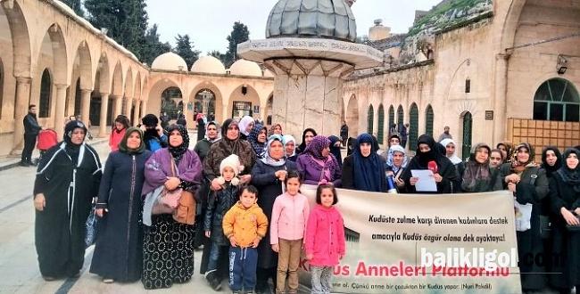 Şanlıurfalı Kudüs Anneleri 52. Kez Filistin için toplandı