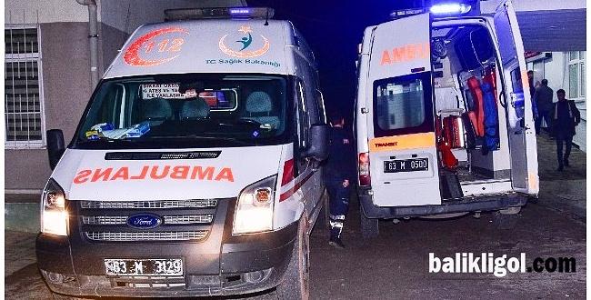 Viranşehir'de öğrenci servisi devrildi: 12 yaralı