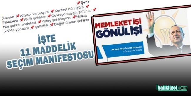 Bu Seçim Manifesto Urfa'da İçin Önemli!