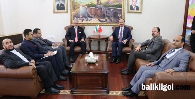 Kuveytli Büyükelçi Şanlıurfa'ya Geldi