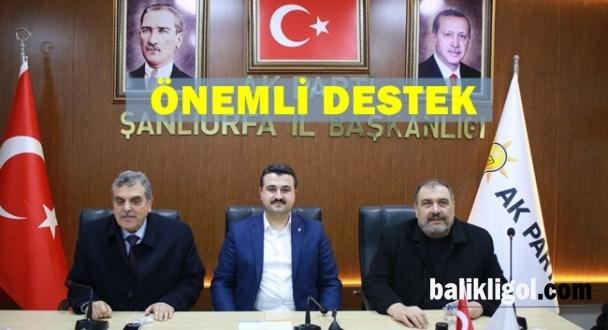 Mersavi Aşiretinden AK Parti'ye Ziyaret
