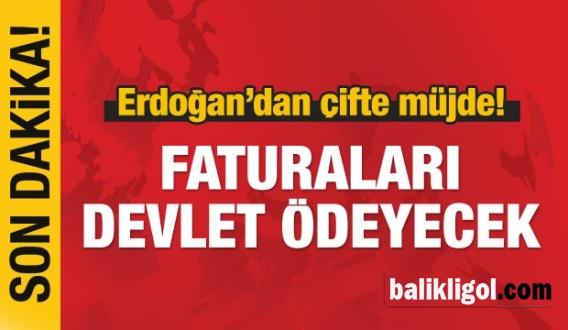 Sosyal yardım alanlara Erdoğan'dan Müjde!
