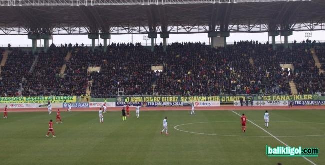 Urfaspor Maraşspor'a 1-0 yenildi