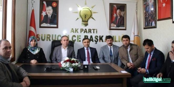 AK Parti Suruç adayı Mustafa Yüksel: Hak yemeyeceğiz, haksızlık yapmayacağız