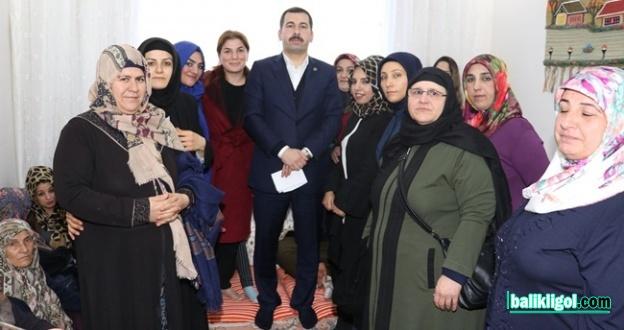 Başkan Adayı Baydilli Seyrantepe'de Çalışmalarını Anlattı