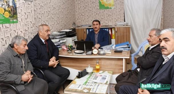 Başkan Bayık, Esnafı ziyaret ederek destek istedi